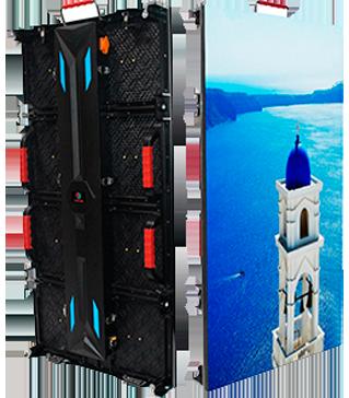 neoled pantallas de led gigantes para edificios