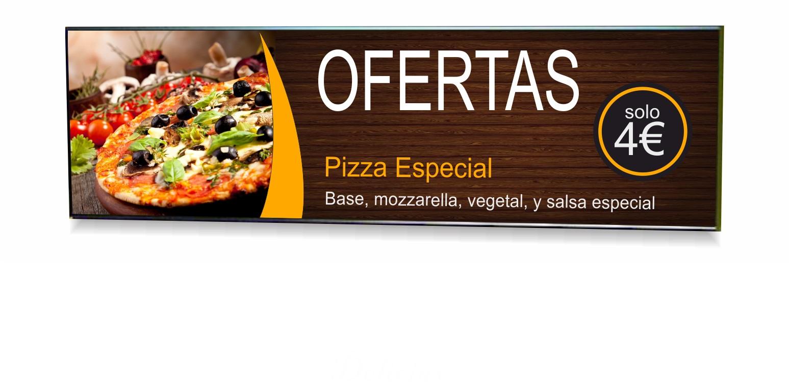 neoled pantallas digitales para restaurantes